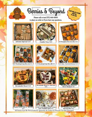Thanksgiving Treats & Gifts for Sale in Ashburn, VA