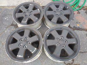 Toyota Prius aluminum 15 inch wheels. 5 on 100mm for Sale in Montebello, CA