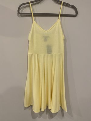 NWT Forever 21 yellow skater circle strapped dress for Sale in Silver Spring, MD