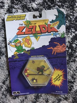 The Legend of Zelda vintage water teaser game RARE 1988 for Sale in Seattle, WA