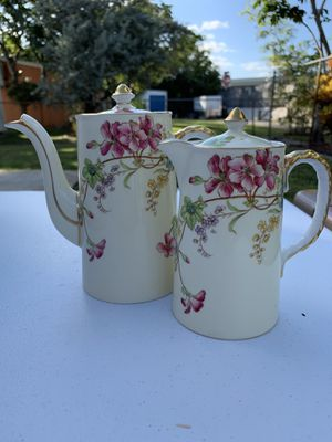 Antique Bone China Teapot and Creamer by Aynsley for Sale in Oakland Park, FL