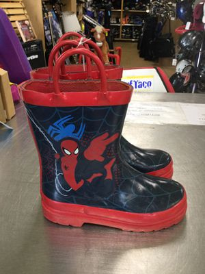 Spider-Man Rain Boots for Sale in Matawan, NJ