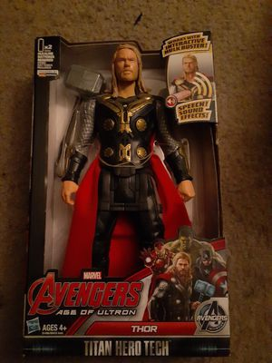 Avengers age of Ultron Thor talking action figure for Sale in Phoenix, AZ