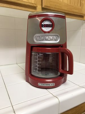 Red KitchenAid coffee Pot for Sale in Lemoore, CA