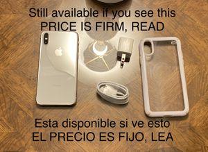 Iphone X 256g Unlocked. Lea descripción antes de preguntar /Read description before asking for Sale in San Leandro, CA