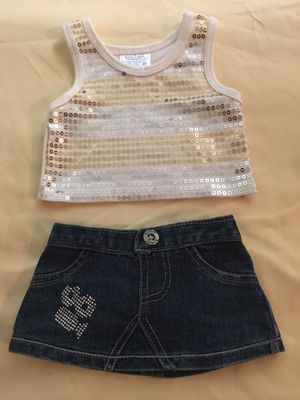 Build-A-Bear Glitter Outfit for Sale in Deltona, FL