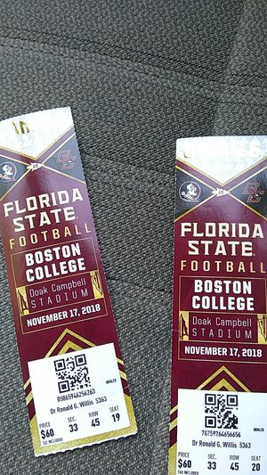 Football tickets for Sale in Tallahassee, FL