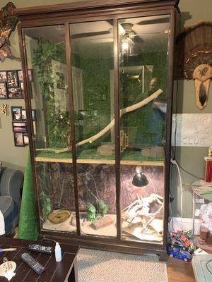 Reptile cabinet for Sale in Virginia Beach, VA