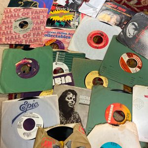 """Collection Of 45 7"""" Records From The 80s Soul Rock R&b for Sale in Miami, FL"""