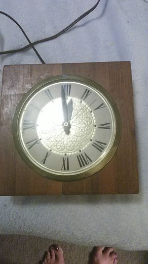 Antique wall clock. Unique, self adjusting time . Must see to appreciate for Sale in Shingle Springs, CA
