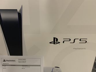 PlayStation 5 (PS5) Disk Version New With Receipt for Sale in Austin,  TX