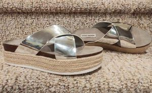 NEW Women's Size 9 - 9.5 Steve Madden Sandals [Retail $79] Wedge Leather Shoes for Sale in Woodbridge, VA