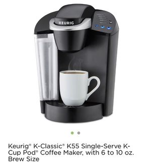 Keurig K-Classic K55 Single serving K cup POD for Sale in Paramount, CA