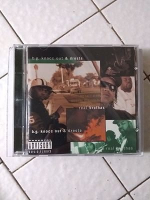 Rare B.g. Knocc Out & Dresta Real Brothas Cd for Sale in Fresno, CA