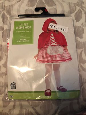 Little red riding hood costume for Sale in Dinuba, CA
