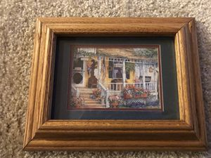 Small framed painting for Sale in Puyallup, WA