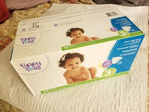 Size 3 Baby Diapers 112ct for Sale in Manchester, MO