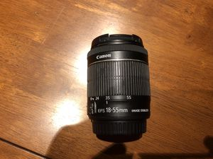 Canon 18-55mm STM Lens for Sale in Tampa, FL