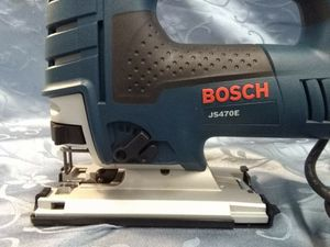 NEW BOSCH JS470E JIG SAW CARPENTER WOOD WORKER PLUMBING ELECTRICAL POWER TOOL for Sale in Miami, FL