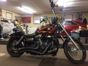 2012 Harley Davidson dyna wide for Sale in Petersburg, IN