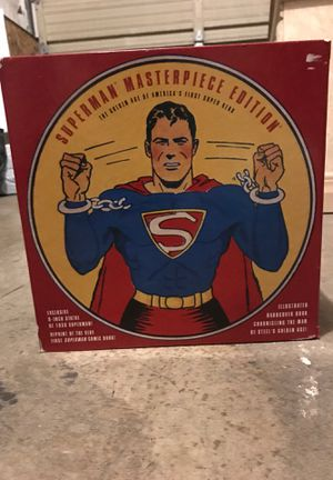 Superman comic limited edition pack with toy for Sale in Sacramento, CA