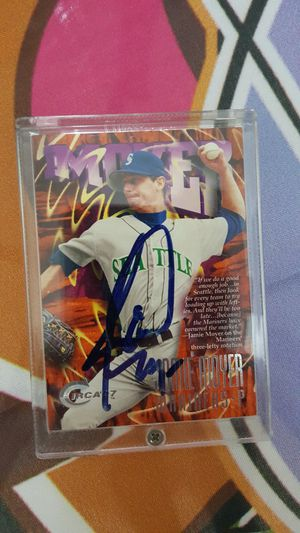 Autographed Jaime Moyer baseball card for Sale in Woodway, WA