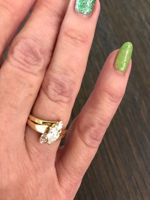 Marquis cut wedding rings for Sale in Litchfield Park, AZ
