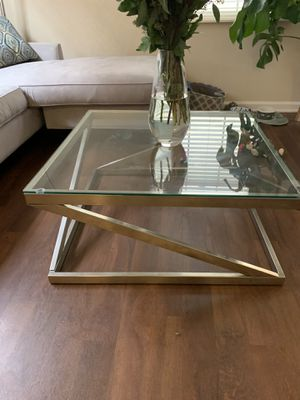 Glass coffee table for Sale in Irvine, CA