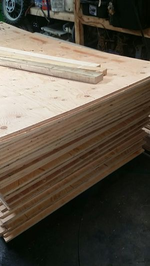 Brand new unused sheets of 5/8 plywood for Sale in BETHEL, WA