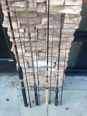 Shakespeare Ugly Stik Rods (4) spin and cast for Sale in San Diego, CA