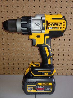 Dewalt XR 3-SPEED Hammer drill w Battery for Sale in Fairview, TX