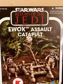 Star Wars The Vintage Collection Ewok Assault Catapult Kmart Return Of The Jedi for Sale in Waco,  TX