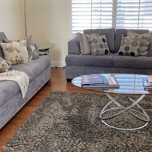 Sofa And Love seat/table Great Condition. Hardly Used in front lobby of House. for Sale in Coto de Caza, CA