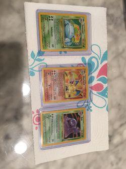 Vintage Pokémon Card Lot. Charizard Venusaur for Sale in Los Angeles,  CA