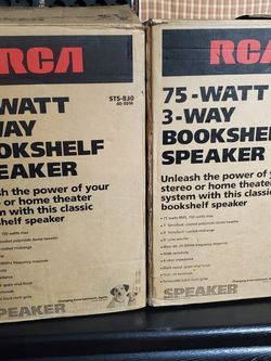 RCA Speakers for Sale in Fullerton,  CA