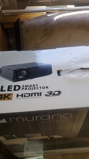 LED smart PROYECTOR HDMI comes with Digital screen for Sale in Norwalk, CA