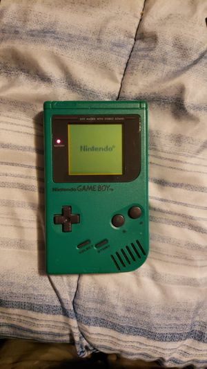 Green Nintendo game boy for Sale in Des Moines, WA