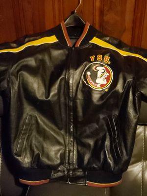 Rare men's leather Seminole Coat for Sale in Panama City, FL
