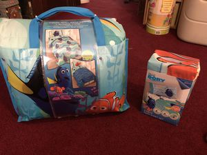 Finding Nemo bedding brand new for Sale in Cumberland, RI