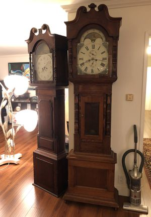 Antique Welsh Grandfather Clock for Sale in West Los Angeles, CA