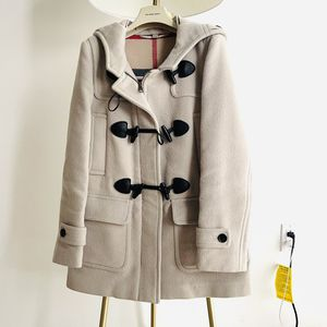 Burberry Brit cream 100% wool coat size 4 for Sale in Chicago, IL