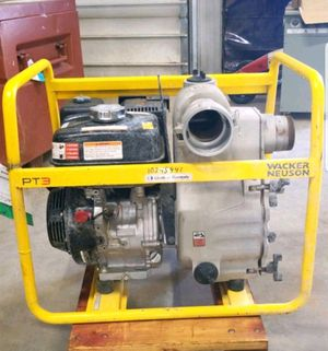 "3"" trash pump Wacker Neuson for Sale in Chippewa Falls, WI"