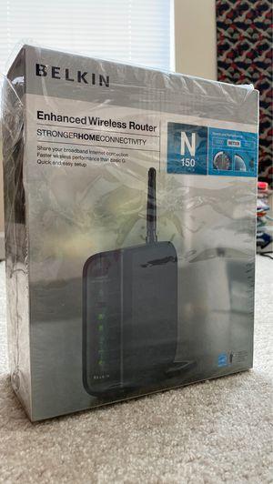 Belkin Enhanced Wireless Router for Sale in Alexandria, VA