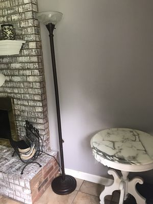 Brown Metal Standing Floor Lamp for Sale in Stockbridge, GA