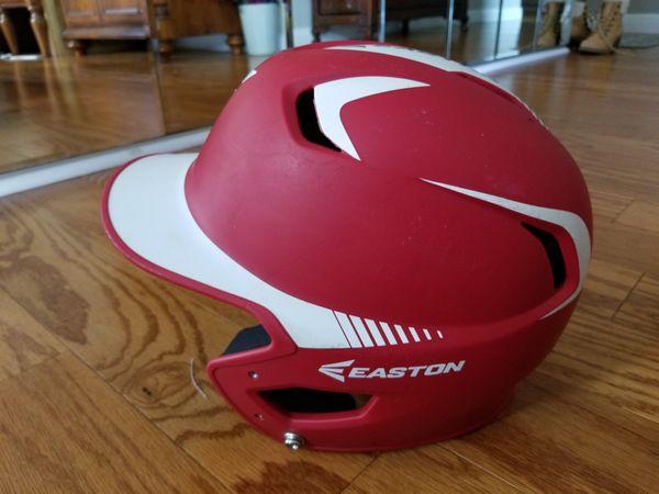 Easton Matte Red Z5 Youth Batting Helmet Grip 2T1 RDWH SKU 7 1/8