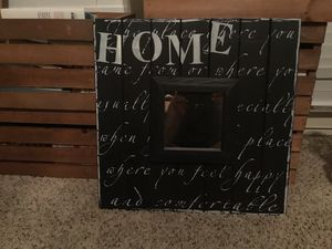 Home Wall Hanging w/Mirror for Sale in Memphis, TN
