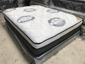 Diamond Collection Pillow Top Mattress and Boxspring! for Sale in Ontario, CA