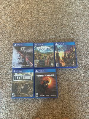 PS4 Video Games - $15 each for Sale in Austin, TX
