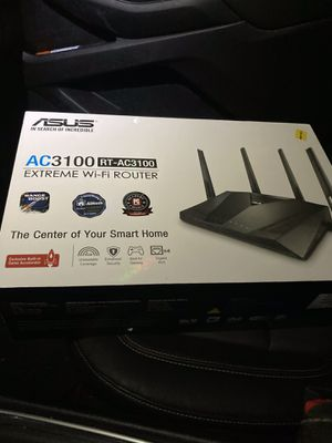 ASUS AC3100 WiFi router for Sale in Smithtown, NY