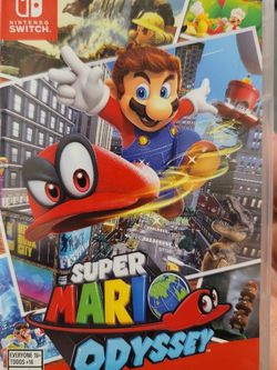Mario Odyssey For Nintendo Switch for Sale in Everett,  WA